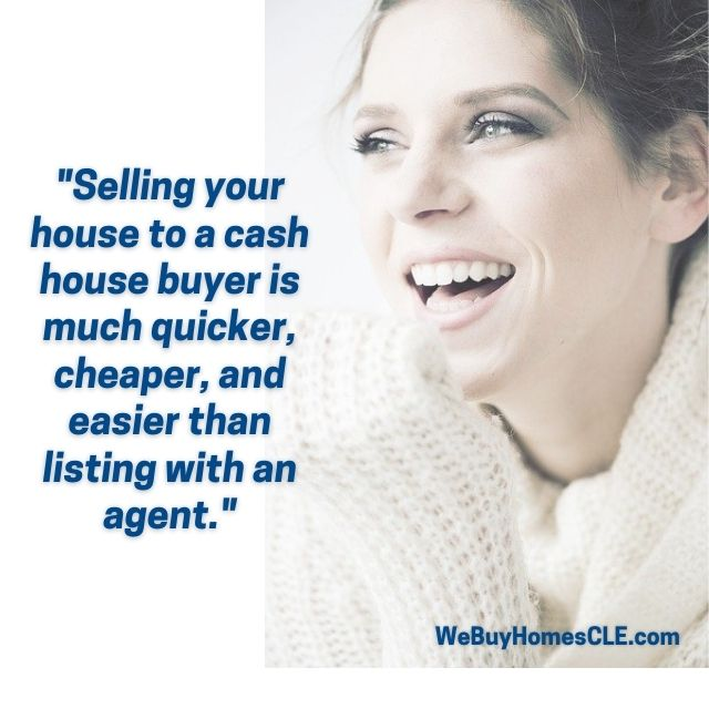 lady smiling - sell your house fast columbus