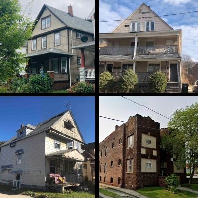 real estate properties - houses and buildings